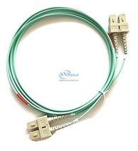 Optical SNS SC/UPC to SC/UPC Duplex OM3 complies with ISO/IEC11801-2nd M... - $25.00