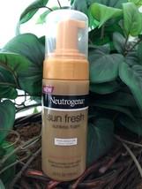 Neutrogena Sun fresh Sunless Foam - Fair/ Medium Skin Tones 4 FL OZ - $30.00