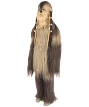 Long Hairy Elder Warrior Ape Military Leader Resistance Fighter Brown Co... - $167.85