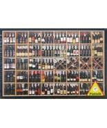 Piatnik Wine Gallery 1000 pc Jigsaw Puzzle Wine Bottles Pop Art - $17.81