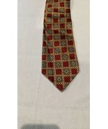 Geometric Tie Luca Franzini The Rack 100% silk made in italy - $9.80