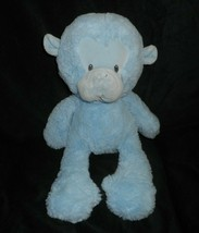 "13"" BABY GUND LIGHT BLUE MONKEY # 4047415 STUFFED ANIMAL PLUSH TOY SOFT ... - $27.70"