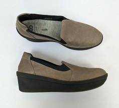 Clarks Women's Cloud Steppers Platform Comfort Shoes Slip On Size 9.5 M - $32.95
