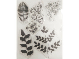 Floral Clear Stamps Set