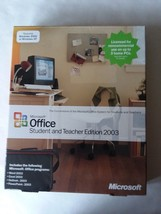 Microsoft Office Student and Teacher Edition 2003 with Product Key - $9.64
