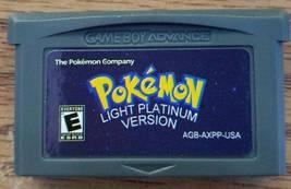 Pokemon Light Platinum English Custom Game Boy Advance GBA - $30.00