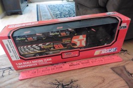 Racing Champions 1995 edition 1:64 scale racing team transporter truck - $6.90