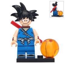 Kid Goku Dragon Ball Z Super Saiyan Lego Moc Minifigures Block Toy Gifts - $1.99