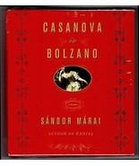 NEW Sandor Marai CASANOVA IN BOLZANO Historical Fiction 8 Compact Discs CDS - $14.99