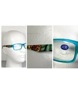 Jade Green Teal Fashion Reading Glasses Tribal Design Temple Arm Unisex ... - $9.79