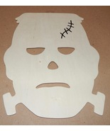 "Halloween Wooden Plaques Creatology 7 1/2"" x10"" Kid Craft Frankenstein H... - $3.49"