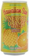 Hawaiian Sun Nectar, Pineapple-Orange, 11.5-Ounce Pack of 24 - $56.71