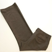 Express Pants Ladies Size 8 Regular EDITOR Brown Stretch Career Wear to Work - $19.25