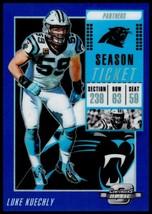 2018 Contenders Optic Season Ticket Blue #77 Luke Kuechly NM-MT 57/99 Pa... - $7.99