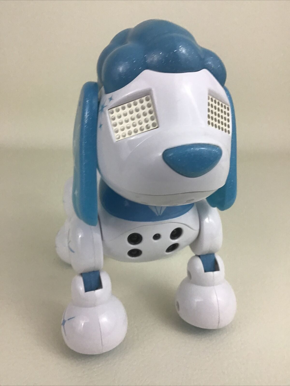 Zoomer Zuppies Interactive Dog Robot Diamond Your Personal Puppy Poodle 2015  - $34.60