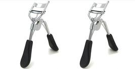 2x Professional Eye Curling Eyelash Curler Clip Beauty Tools Silver/Blac... - ₨491.60 INR