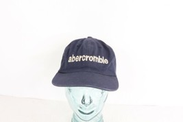 Vintage 90s Abercrombie & Fitch Spell Out Leather Strapback Cotton Dad H... - €27,45 EUR
