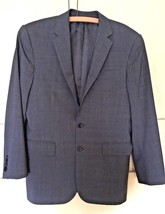 Ralph Lauren Two Button Gray Glen Plaid Wool Blazer Jacket (36 R) - $32.73