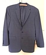 Ralph Lauren Two Button Gray Glen Plaid Wool Blazer Jacket (36 R) - $32.73