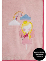 Fairy Princess Cosy Throw 120cm x 150cm - Lovely Gift ideal for kids bed... - $11.26