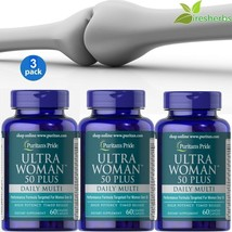 #1 BEST ULTRA WOMAN 50 PLUS SUPPORT HEALTHY BONES ANTIOXIDANT SUPPLEMENT... - $43.55