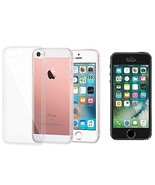 Combo Pack 1 SP Glass, 1 Clear TPU Case for iPhone 5 / 5S - $21.73