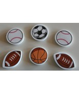 Classroom Tools 6 Pack Sports Erasers - $3.95