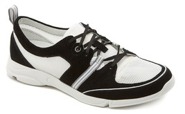 Rockport Cycle Motion Lace Up Women's Nautical Boat Shoes V77516 Black/W... - $39.99
