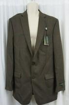 Ralph Lauren Mens Sports Coat Sz 42 Long Light Brown Multi Wool Blazer Jacket - $147.92