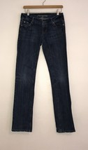 American Eagle AE Straight 77 Womens Size 2R Blue Jeans 2 Regular Juniors  - $9.99