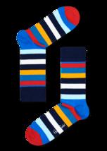 Happy Socks Men's Bright Patterned Cotton Socks  BIG & TALL 10-13 NEW St... - $7.89