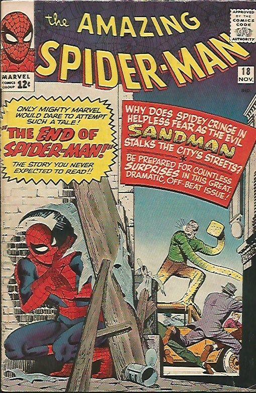 AMAZING SPIDER-MAN #18 Steve Ditko 1964 Marvel Comics 1st Print & Series