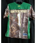 NCAA Kentucky State Youth Realtree Xtra Camo Game Day Jersey, Large, FBJ... - $14.84