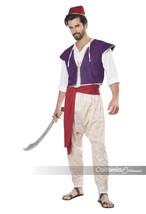 Californie Déguisements Arabe Folk Héros Aladdin Hommes Halloween Costum... - $32.53