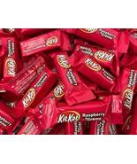 Pink KIT KAT Miniatures Raspberry Creme Candy Bar, Bulk 2 Pound Bag - $22.30