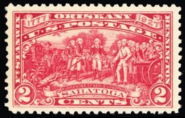 644, Mint Extra Fine NH 2¢ Saratoga Stamp A GEM - Stuart Katz - $9.95