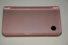 Nintendo DSi XL Metallic Rose Handheld Game Console System Very Clear Sc... - $114.86