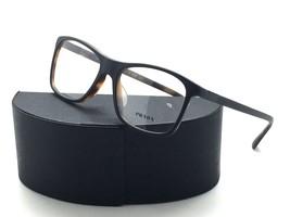 Prada VPR 05S UBH-1O1 Matte Black/Havana New Authentic Eyeglasses 55mm w... - $73.57