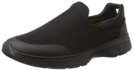 SKECHERS PERFORMANCE MEN'S GO WALK 4 INCREDIBLE WALKING SHOE BLACK 8 M US - $59.39