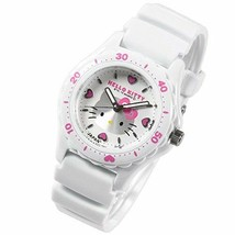 07dc191e1 Citizen Watch Q & Q Hello Kitty White × White Made in Japan Free  Shipping