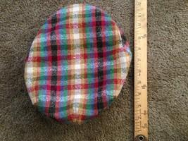 Vintage Irish Tweed Cap - Donegal Tweed - - $44.55