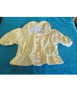 Kid Connection, Girls, 12 Month Orange Flower Shirt - $2.99