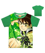 WM Ben 10 Kid Child T Shirt T-shirt Short Sleeve Summer Type Run - $15.99