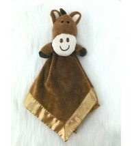 Dan Dee Baby Lovey Security Blanket Horse Pony Brown Gold Boy Girl B350 - $34.99