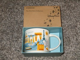 Disney Starbucks Epcot 3rd Edition You Are Here Collection Mug Cup, BRAND NEW - $30.84