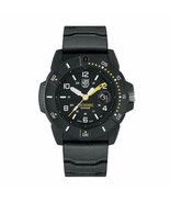 LUMINOX Navy Seal 45MM Black Dial Rubber Strap Men's Watch XS.3601 - $384.95