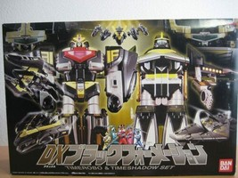 Bandai Power Rangers Time Force Timeranger DX TimeRobo & TimeShadow SET 2000 - $439.55