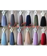 Tulle TUTU Color chart Tutu Color Swatches Wedding Skirt Maxi Tulle Skirt Custom - $0.50