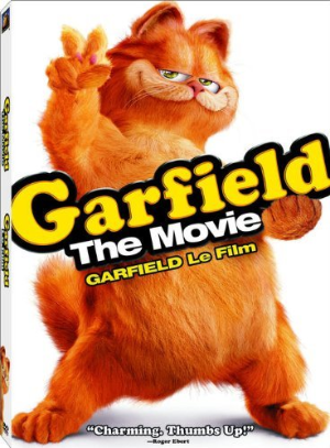 Garfield - The Movie Dvd