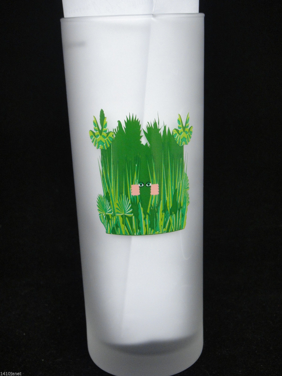 Dartington Frosted Glass Tumbler Golfing Hazards No 3 The Rough Barware